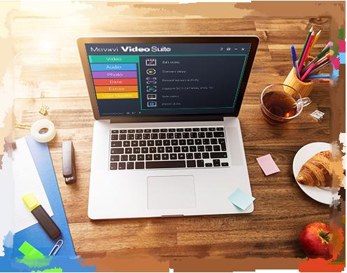 Movavi Video Suite - набор программ для создания видео своими руками
